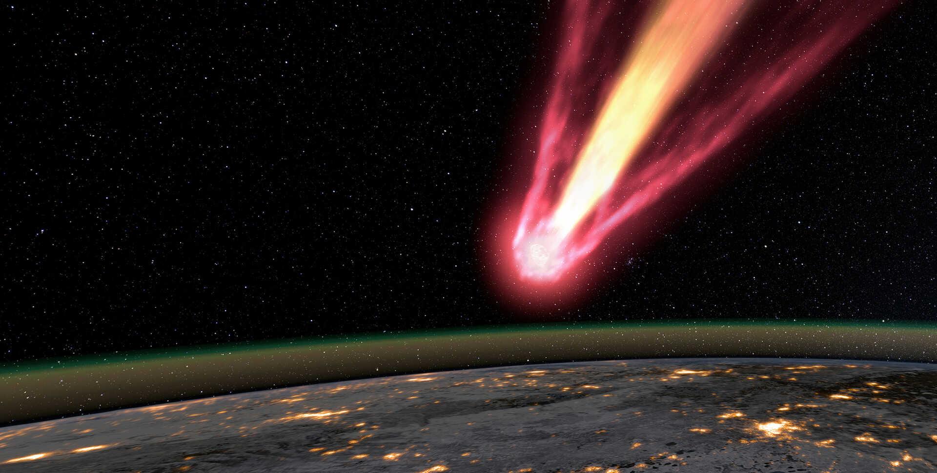 Chelyabinsk meteor Image Credit: California Academy of Sciences Visualization StudioChelyabinsk. Image