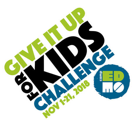 Camp Edmo Give It Up for Kids Challenge
