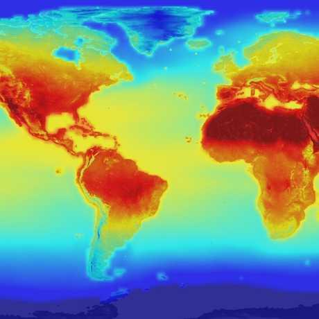 NASA global temperature projections