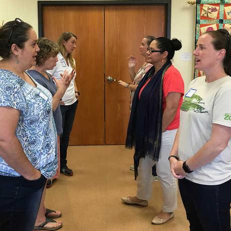 Facilitating conversations workshop