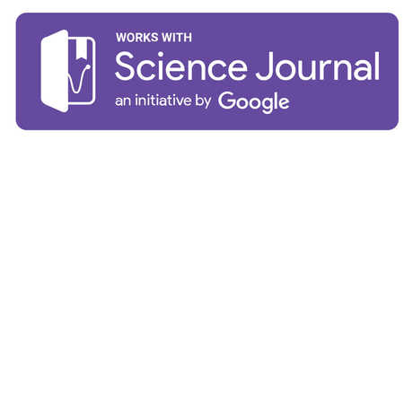 Science Journal an initiative by Google logo