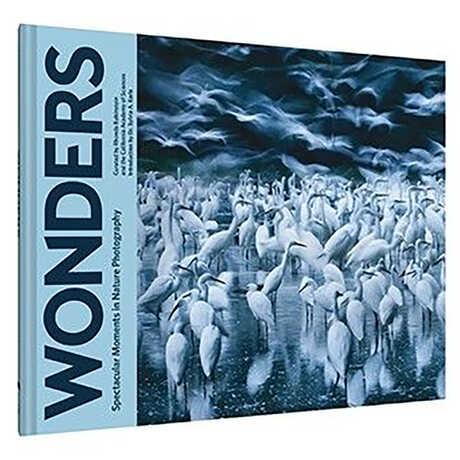 A hardback copy of Wonders