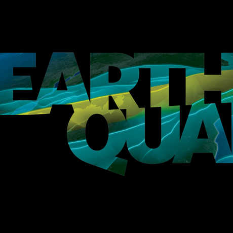 Earthquake planetarium logo
