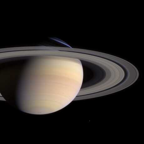 The planet Saturn, by NASA/JPL/Saturn institute