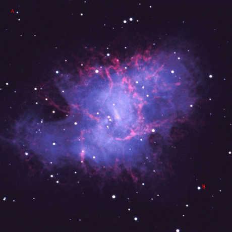 Crab nebula image: NOAO/AURA/NSF