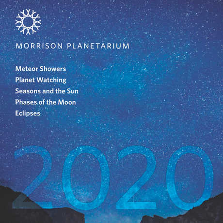 Cover image of 2020 Morrison Planetarium Pocket Almanac