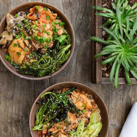 Colorful, healthy bowls served fresh at the Academy Cafe