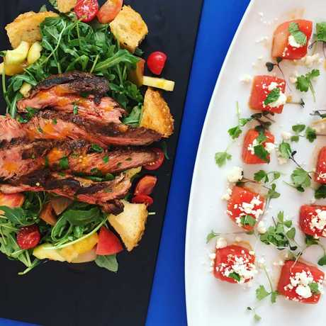 Delectable, fresh dishes at the Terrace Cafe