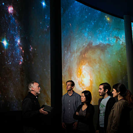 NightLife VIP tour guests get a tour of the planetarium