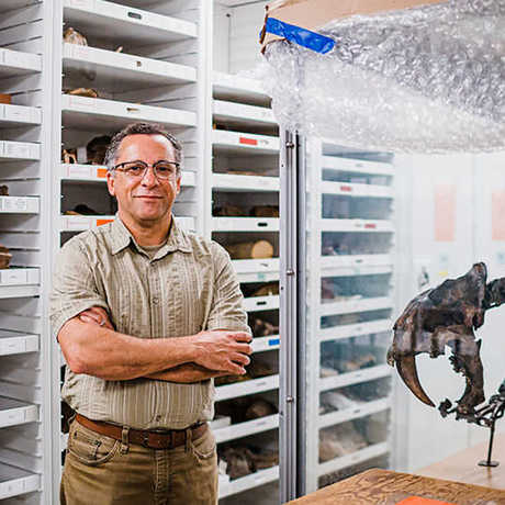 Peter Roopnarine in geology collections