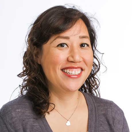 Librarian Rebekah Kim