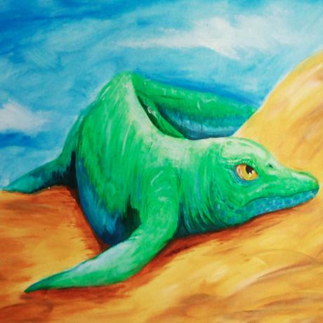 Cartorhynchus, ancient reptile
