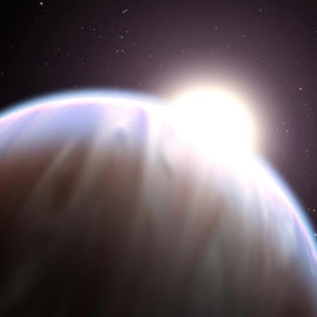 HD 189733b with its parent star, NASA/ESA