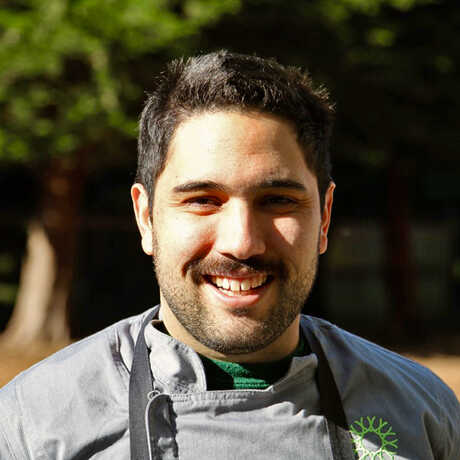 Outdoor portrait of Chef Dante Cecchini