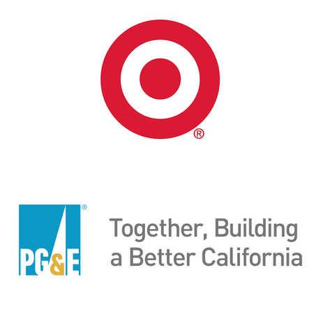 Target and PGE logos