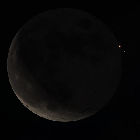 Mars occultation