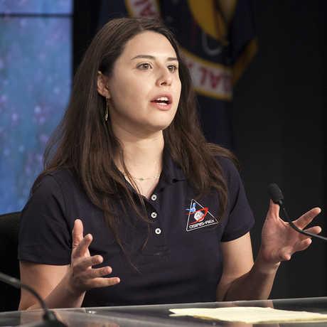 Daniella DellaGiustina is Lead Image Processing Scientist for the OSIRIS-REx mission