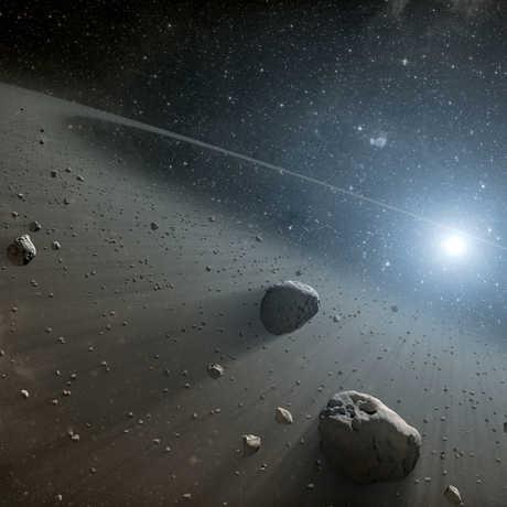 NASA asteroid belt