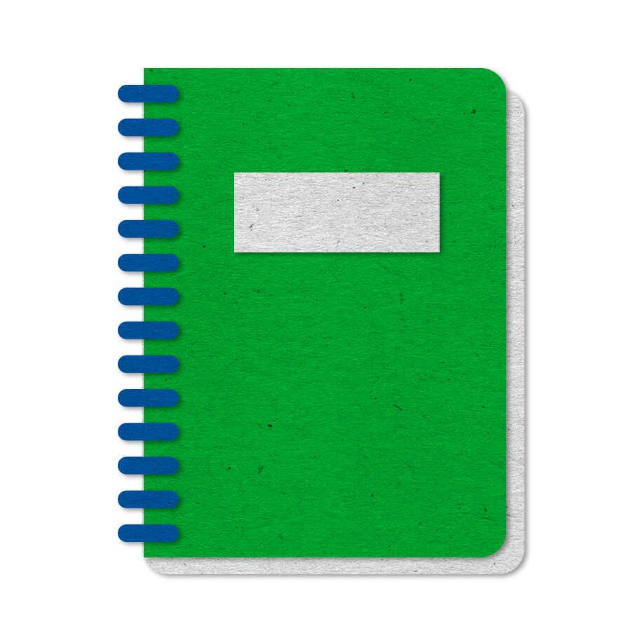 Felt notebook icon