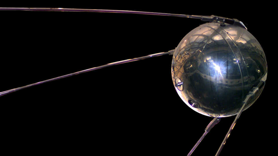 Image of Sputnik 1 from Air and Space Museum