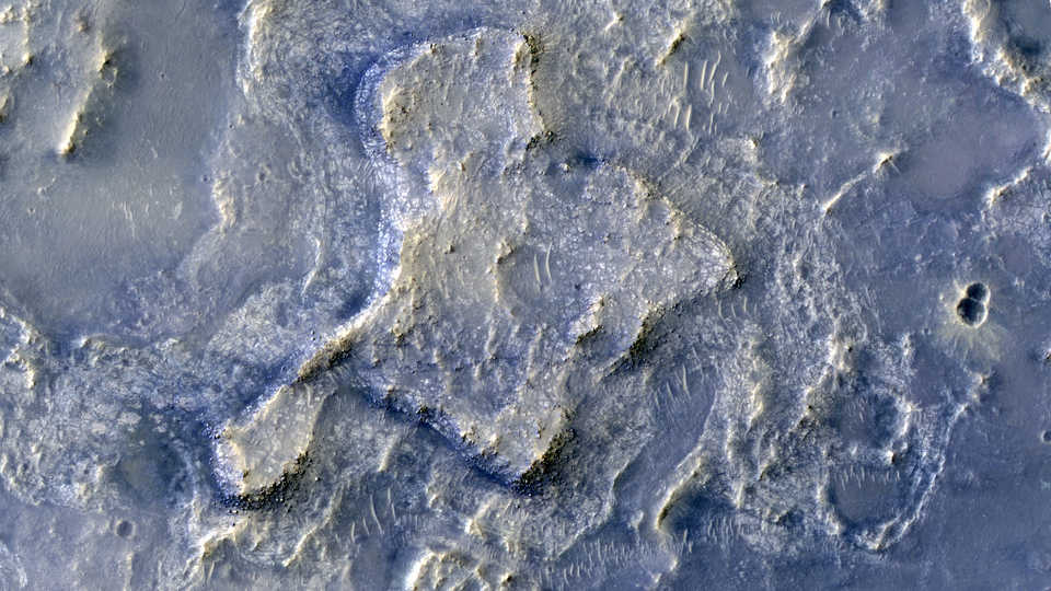 Northeaster Syrtis Region on Mars