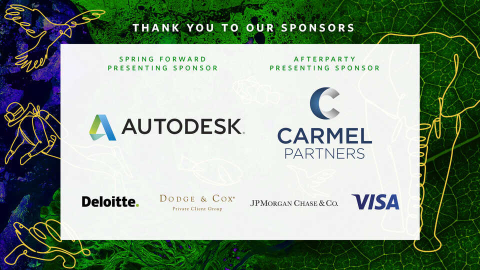 Event sponsor logos for Spring Forward